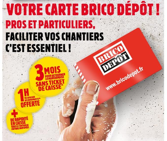 Ma Carte Brico Depot