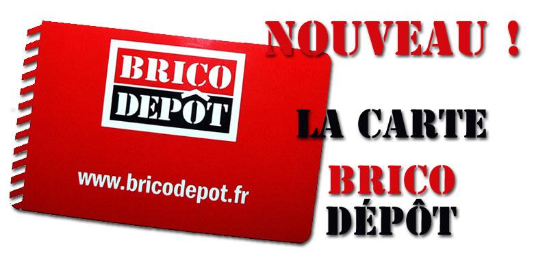 Carte Fidelite Brico Depot