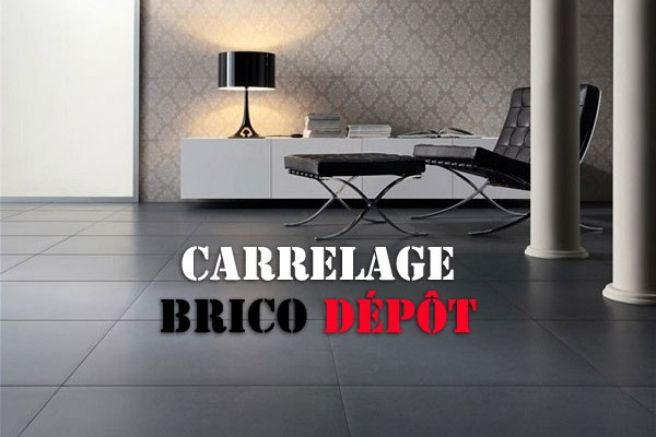 Prix pose carrelage 75x75 for Faience cuisine brico depot