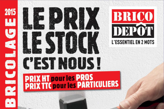 Catalogue brico d p t l 39 officiel du bricolage 2016 2017 - Prix placo brico depot ...
