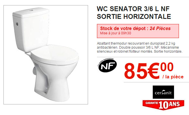 WC Bricodépot
