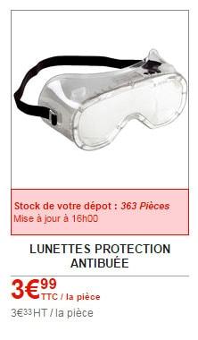 lunettes brico depot