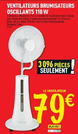 ventilateur brico depot