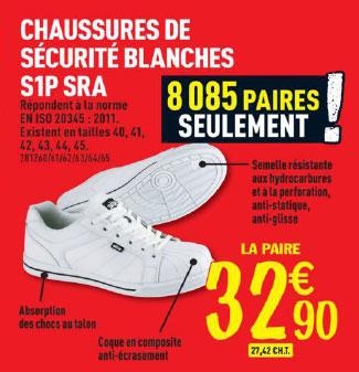 Chaussures de sécurité Brico Dépôt
