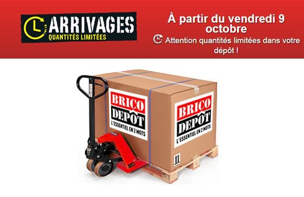 les arrivages brico dpt spcial anniversaire - Portes De Placard Coulissantes Brico Depot2557