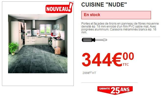 cuisine Brico Dépôt Nude