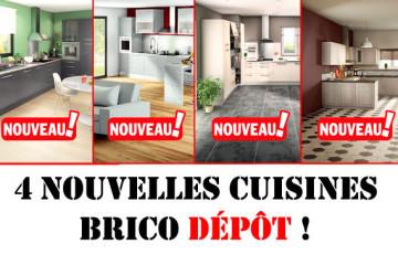 des nouveaut s dans les cuisines brico depot. Black Bedroom Furniture Sets. Home Design Ideas