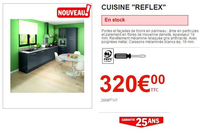 cuisine Brico Dépôt Reflex