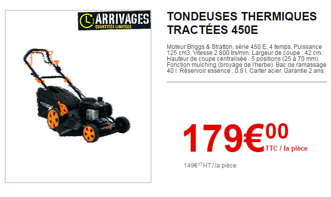 Garantie Tondeuse Brico Depot
