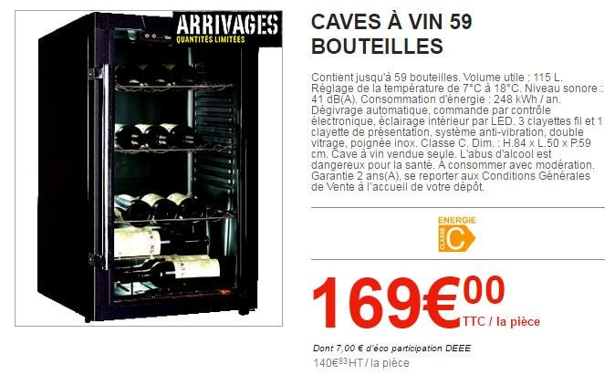 Cave A Vin Brico Depot