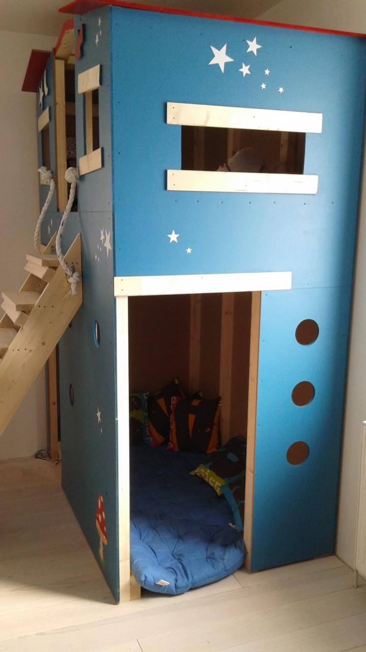 lit cabane sur mesure