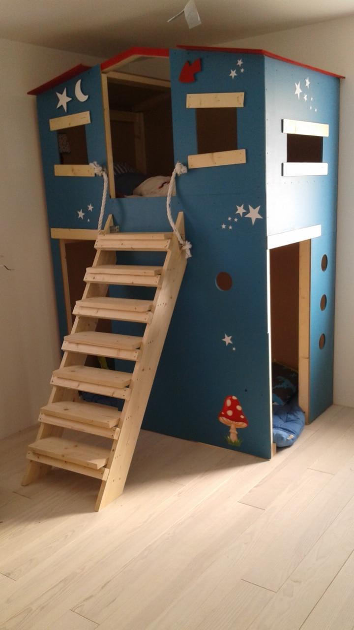 mon lit cabane brico depot. Black Bedroom Furniture Sets. Home Design Ideas