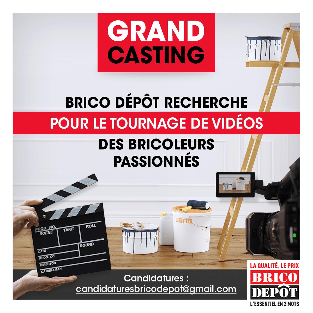 casting brico depot
