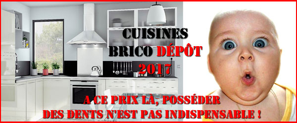 Cuisines Brico Depot 2017