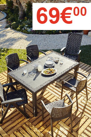 Le catalogue brico depot de printemps - Table de jardin brico ...