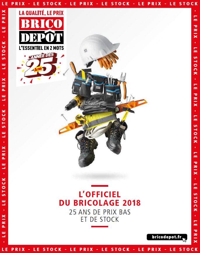 Gros catalogue brico depot