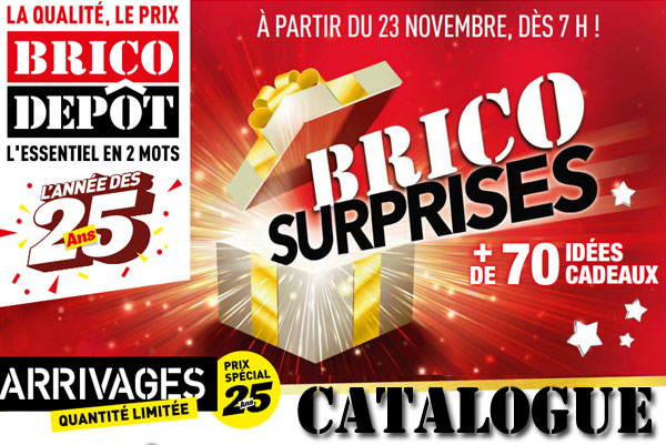 catalogue brico depot novembre 2018