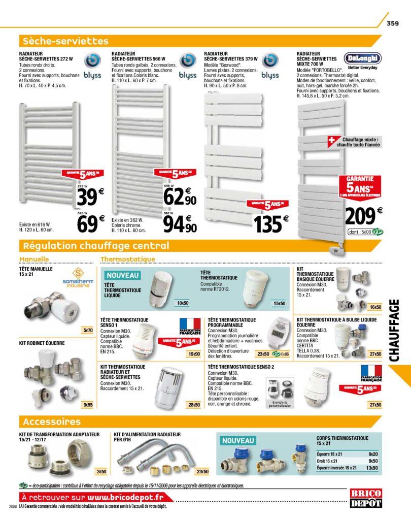 radiateurs à eau