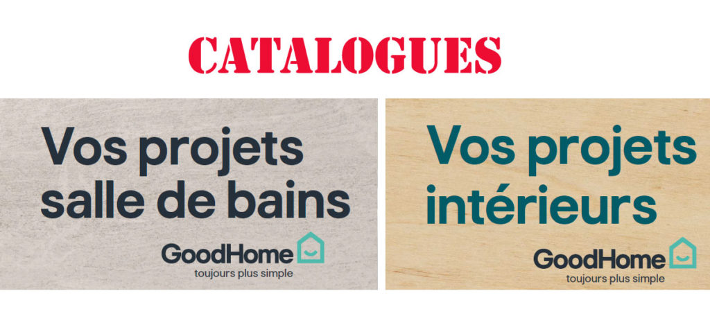 catalogues brico depot goodhome