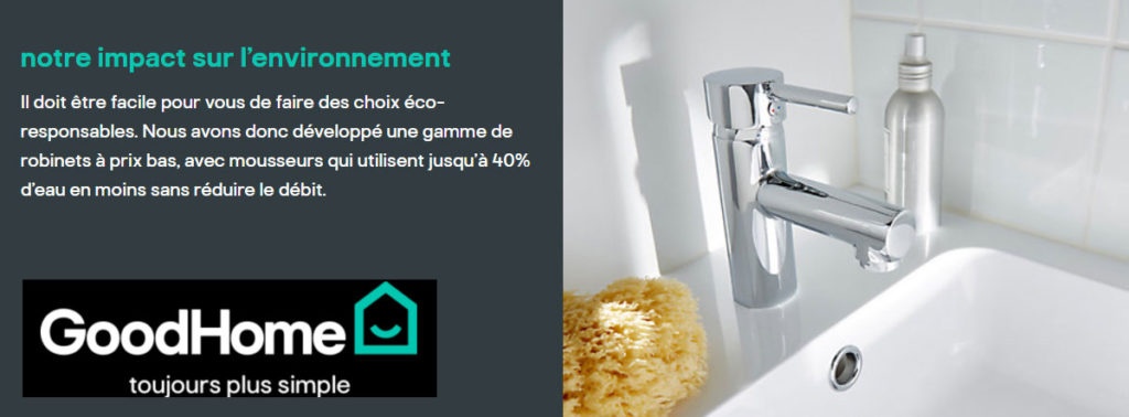 robinet goodhome brico depot