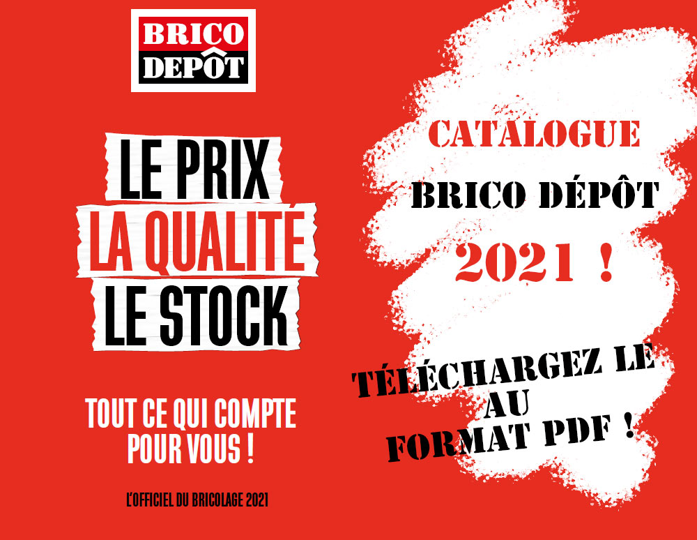 catalogue brico depot 2021